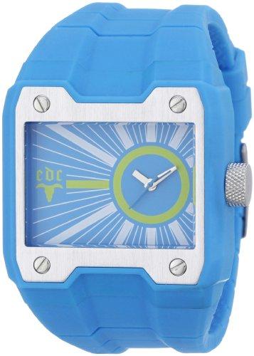 edc by Esprit - Reloj de Cuarzo para Hombre, con Correa de Resina, Color Azul