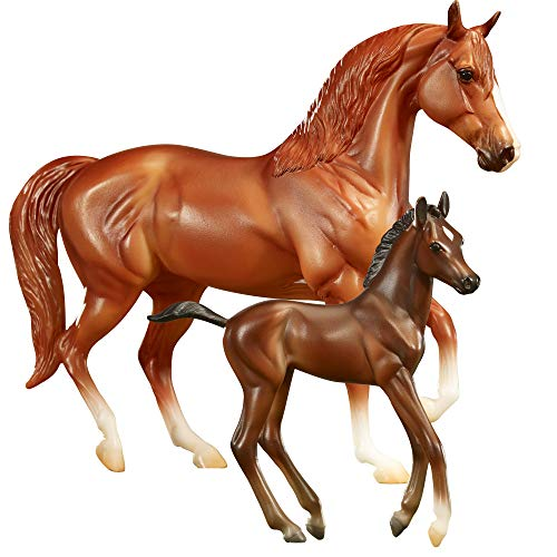 Breyer Freedom Series (Classics) Smooth Rider | Horse and Foal Toy Set | 1:12 Scale | Model #62209