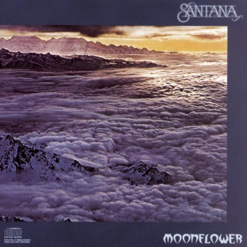 Moonflower by Santana (1990) Audio CD