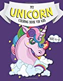 My Unicorn Coloring Book For Kids Ages 4-8: And Word Search  (US Edition)