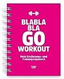 Trainingstagebuch & Ernährungstagebuch für Krafttraining, Fitness-Studio, Heimtraining,...