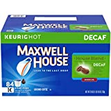 Maxwell House Decaf House Blend Keurig K Cup Coffee Pods (84 Count)