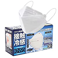 【個包装】KF94型高機能4層構造不織布マスク接触冷感(夏用マスク)