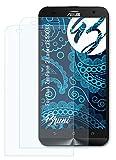 Bruni Schutzfolie kompatibel mit Asus ZenFone 2 Laser ZE550KL Folie, glasklare Bildschirmschutzfolie (2X)
