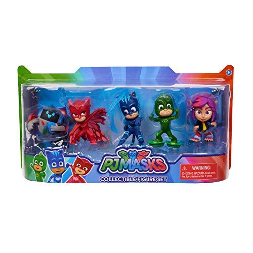 PJ Masks- Pack 5 Figuras (Bandai 24686)