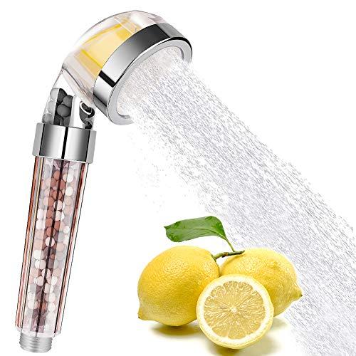Alcachofa De Ducha De Mano Cabezal de baño con ahorro de agua Filtrado sostenido Cabezales de boquilla Ahorro de agua a alta presión Fácil de limpiar Adecuado para usar en cualquier