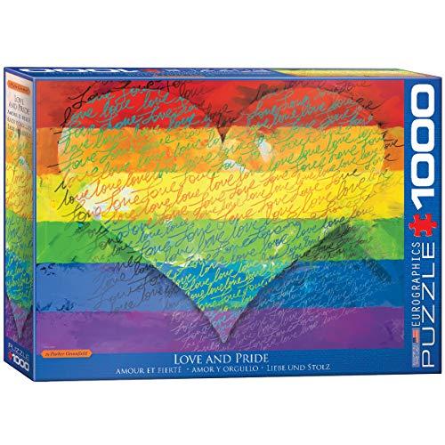 EuroGraphics Love & Pride! 1000-Piece Puzzle