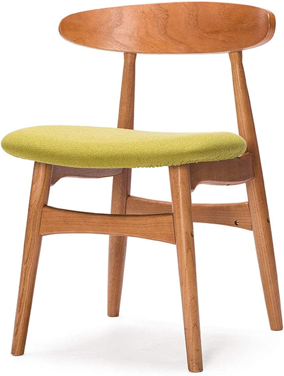WXL Solid Wood Chair Desk Simple Coffee Shop Chair Nordic Retro Chair Square W (color   B, Size   L43CMXW44CMXH71.5CM)