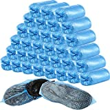 400 Pieces (200 Pairs) Disposable Boot and Shoe Covers for Floor, Carpet, Shoe