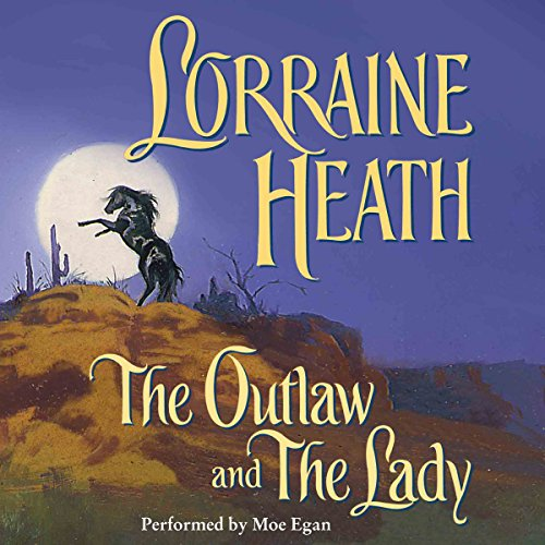 The Outlaw and the Lady audiobook cover art