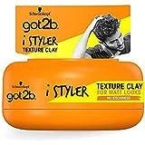 Got2b - Arcilla Texturizante iStylers, 75 ml, Estilo personalizado, Con efecto mate, Fuerte fijación
