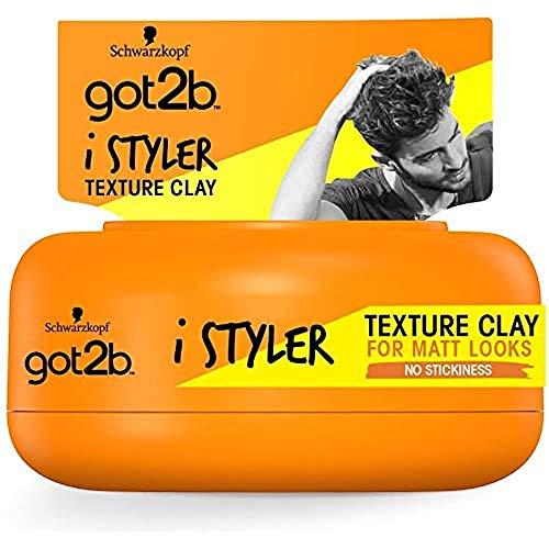 Schwarzkopf got2b iStylers Texture Clay, 75 ml