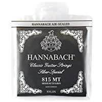 HANNABACH 815 MT-Black Set クラシックギター弦×6セット