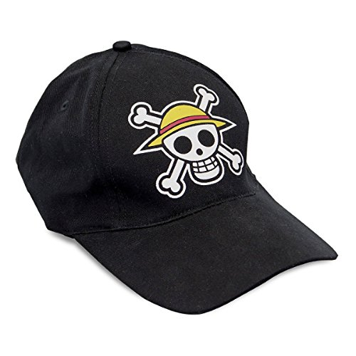 ABYstyle- The One Piece Cap Skull Gorra, Color negro, 0 (ABYCAP007)