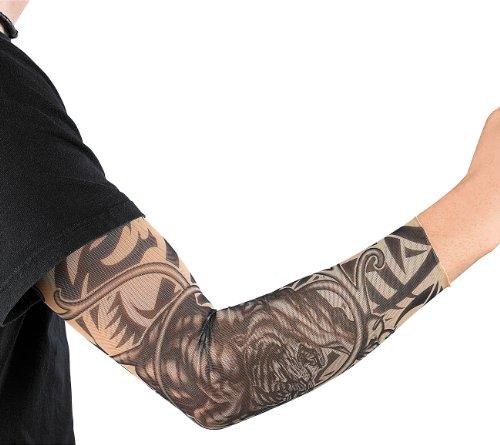 infactory Tattooärmel: Tattoo-Armling Wild Tribals (Tattoo Strümpfe für Arme)