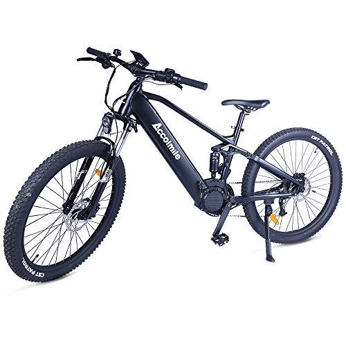 Bicicletas Electricas De Montaña Doble Suspension Marca Accolmile