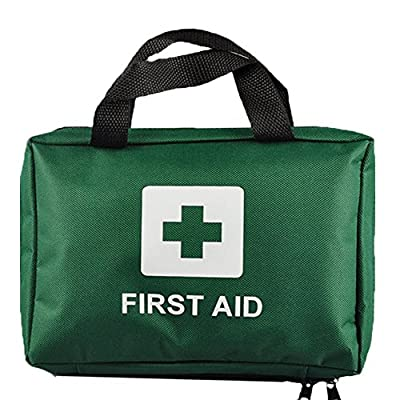 Ezy-Aid 99pcs Supreme First Aid Kit Bag - Inc. Eye Wash, Crepe, Ice Pack, Thermal Blanket - Home, Office, Vehicle, Workplace, Travel, Camping from Ezy-Aid