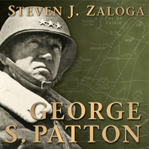 George S. Patton audiobook cover art