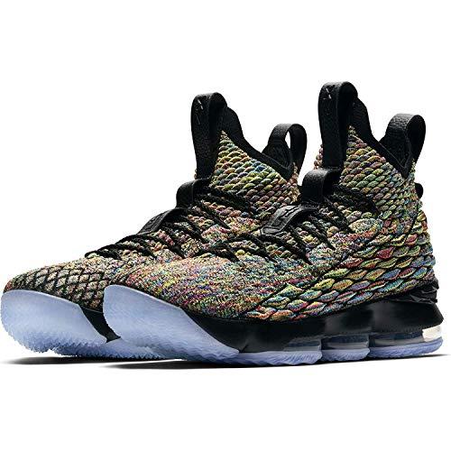 Nike Mens Lebron Xv Multi Color/Black 897648 901 - Size 10.5