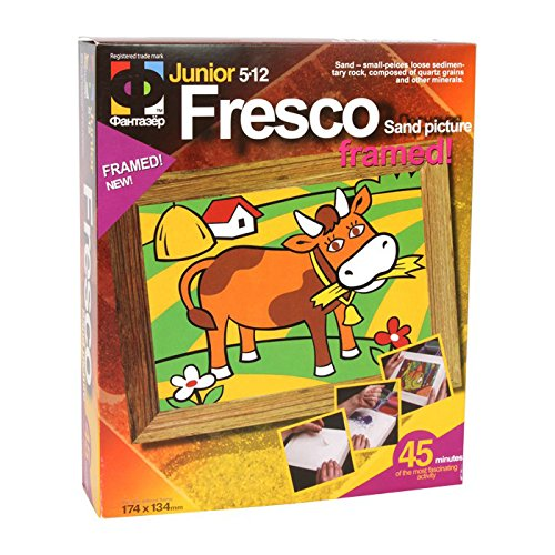 Small Foot Company Sable Tableau Vache Décorations de fête pour Enfants