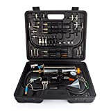 Wisamic Automotive Non-dismantle Fuel Injector Cleaner Kit and Tester with Case for Petrol...