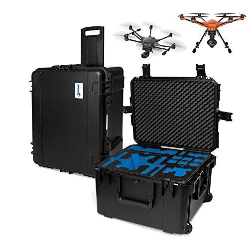 Yuneec H520 oder H Plus Transportkoffer Platz für Kamera, ST16S Fernsteuerung, 6 Akkus und Zubehör