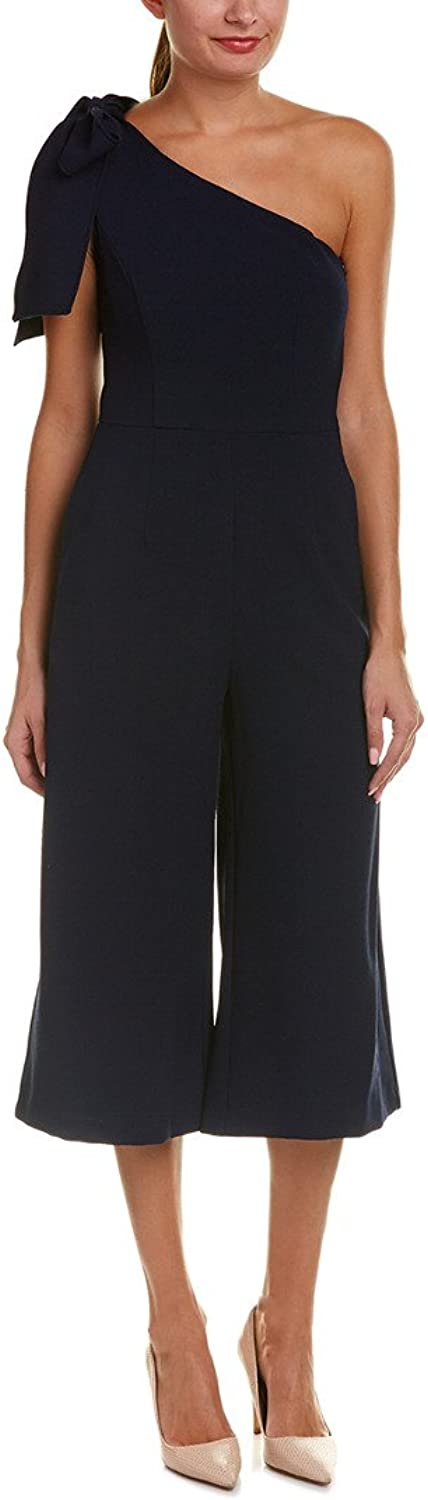 Julia Jordan Womens Crepe Cropped Jumpsuit