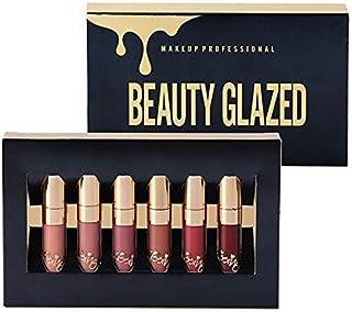 Beauty Glazed 6pcs/set Makeup Matte Not Faded Lipstick Lip