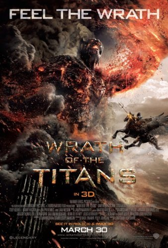 WRATH OF THE TITANS MOVIE POSTER 2 Sided ORIGINAL FINAL 27x40 LIAM NEESON