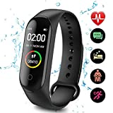 DAIFA Fitness Tracker, Activity Tracker Watch con cardiofrequenzimetro, contacalorie, Cinturino...