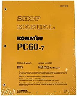 Komatsu Service PC60-7 Excavator Shop Manual #1