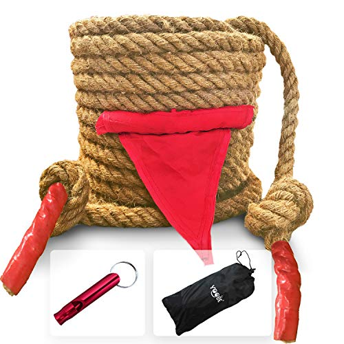 YOOBE Tag of War Rope Set for Adults or Kids Outdoor Sports Activities