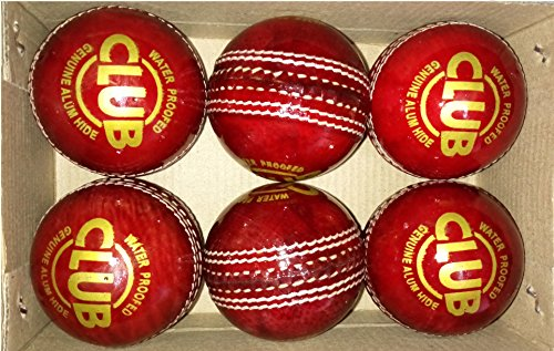 Tima 599cub Blend Online Shopping Set of 6 Leather Cricket Ball 2 Part
