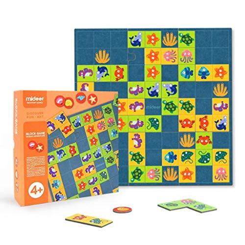QHWJ Puzzle Toy, Kinder Lernspielzeug Ozean Solitaire Spiel Entwicklung Intelligenz Gehirn Logik Multiplayer Interaktives Brettspiel