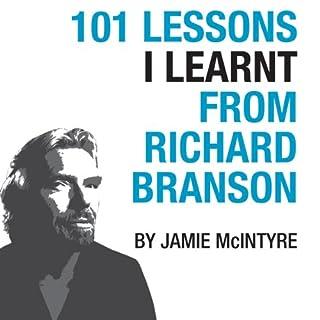 101 Lessons I Learnt From Richard Branson audiobook cover art