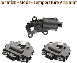 VCAUTO 3 HVAC Heater Blend Door Actuator Kit for 2004-2008 Chevrolet Malibu; 2004-2013 Chevrolet Impala; 2005-2009 Buick LaCrosse Allure Cadillac XLR Air Inlet +Mode+Temperature Actuator