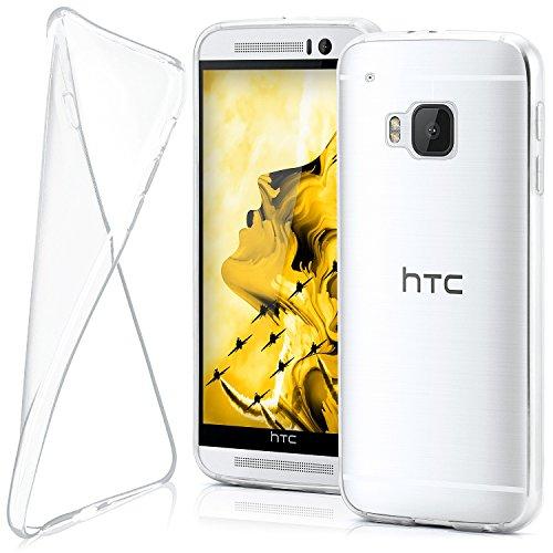 MoEx® AERO Hülle Transparente Handyhülle passend für HTC One M9 | Hülle Silikon Dünn - Handy Schutzhülle, Durchsichtig Klar