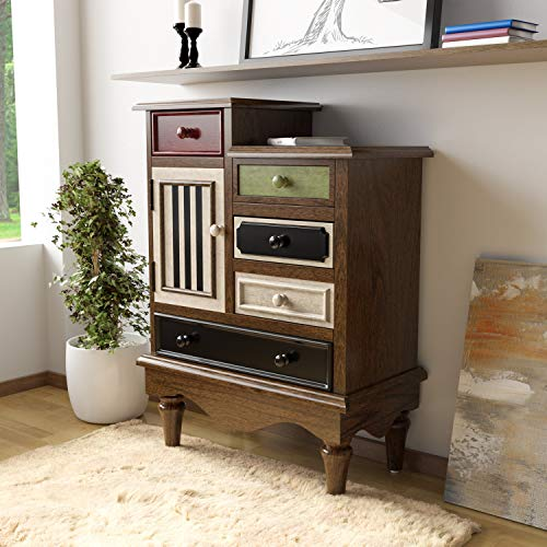 Learn More About Sole Vintage Multi-Color Solid Wood Chest Brown Multi Color Transitional Rectangle ...