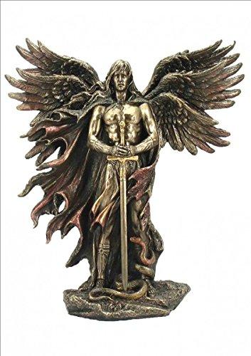 Veronese by Joh. Vogler Erzengel Metatron mit 6 Flügeln bronziert/col. Figur Skulptur 2013