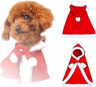 687e3747f3027 Petilleur Costume pour Chien Déguisement pour Chien Noël Fête Nouvel an pour  Petit Chien