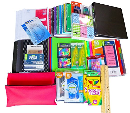 Mega Bulk Back to School Supply Bundle Kit Over 70 + Items