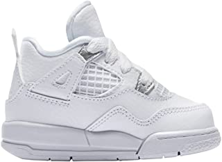 288d48a6f211d Nike Basket Air Jordan 4 Retro TD Pure Money Bébé - Ref. 308500-100
