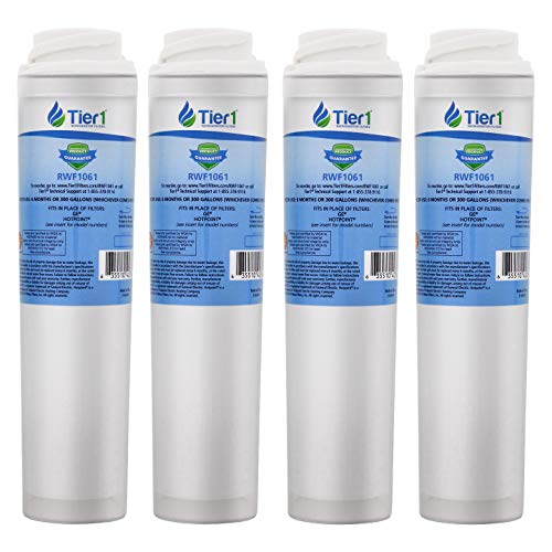Tier1 Replacement for GE GSWF SmartWater, Kenmore 46-9914, 469914, 9914 Refrigerator Water Filter 4 Pack