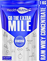 Strava Nutrition HealthNutriva Raw Whey Protein Concentrate 24.2 g Protein Lab Tested with Enzyme Blend From USA...