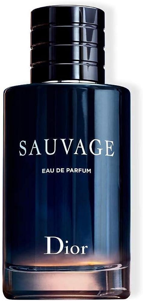 Dior sauvage, eau de parfum ,profumo per uomo, 100 ml DIO00729