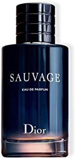 Christian Dior Sauvage Eau De Parfum Spray For Men, Blue , 3.4 Ounce