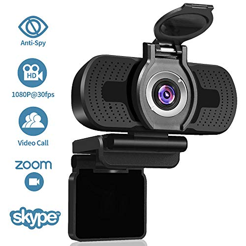 Privacy Cover and Tripod Mac PC Laptop Desktop 2020 1080P 60FPS Webcam with Microphone NexiGo Pro USB HD Computer Web Camera//Mic Video Cam for Skype Zoom Streaming Gaming Conferencing