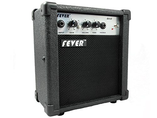 Fever GA-10 10 Watts Guitar Combo Amplifier with Overdrive Distortion Switch