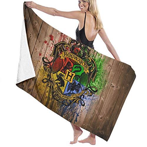 Custom made Harry Potter - Toallas de baño absorbentes suaves para adultos, de secado rápido, toalla de playa de gran tamaño para mujeres y hombres