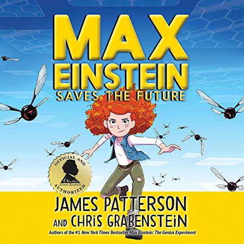 Max Einstein: Saves the Future audiobook cover art